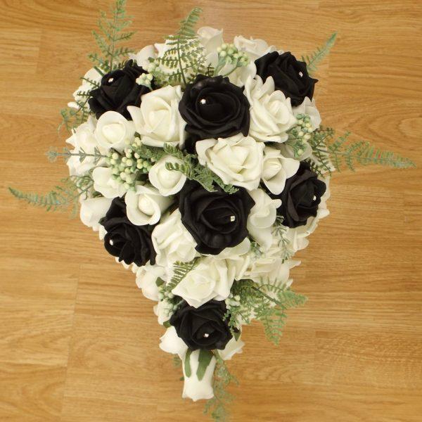black fern rose brides shower