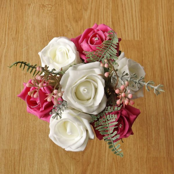 bright pink child bouquet