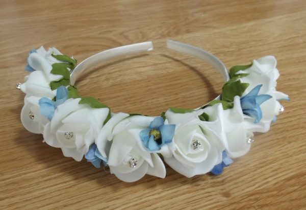 Forget me not hair band