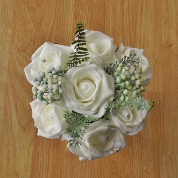 ivory rose child bouquet