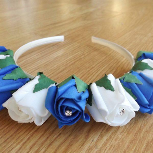 royal blue hair band