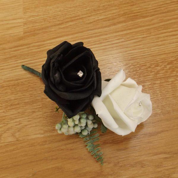 black fern corsage