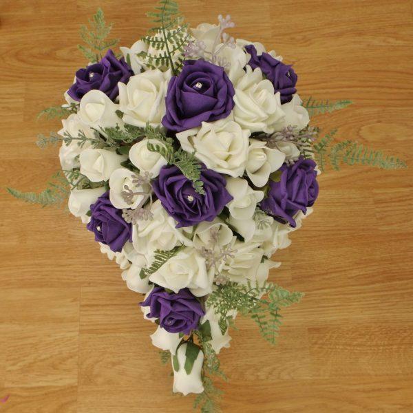 purple fern brides shower