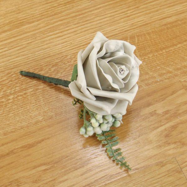 silver fern buttonhole