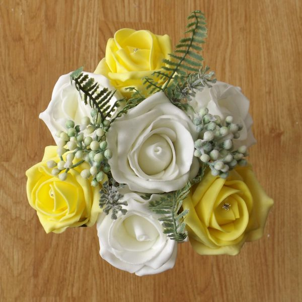 yellow rose child bouquet